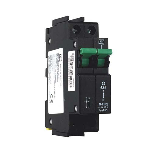 CBi Dual Mount Isolator 2 Pole 6kA 63A - QF-S-2(13) QFA20063