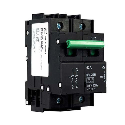 CBi Dual Mount Isolator 2 Pole 6kA - QF-S-2(26) QFE20063