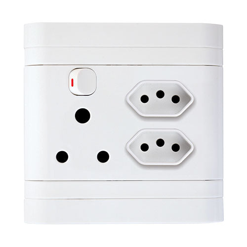 Lesco Pipelli Monobloc Flush Single Switched Socket