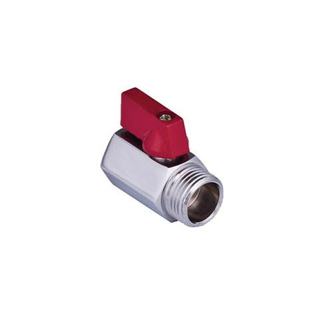 Mini Ball Valve with Handle M/F