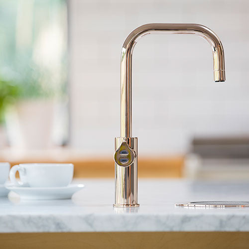 Franke Zip G4 Hydrotap Bc Rose Gold Cube Boiling Chilled