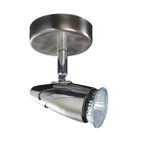 Bright Star Satin Chrome Spotlight S061/1