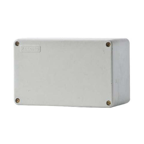 Allbro S10 Junction Box. These durable IP44 screw lid boxes 040-601