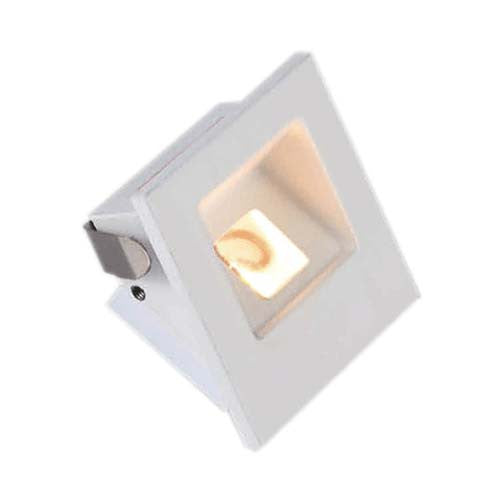 Major Tech LED Stair Light Matt White 1W