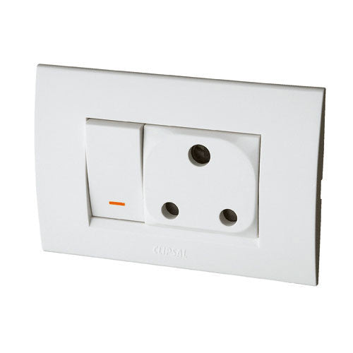 Schneider Electric  S3000 Switched Socket Outlet We