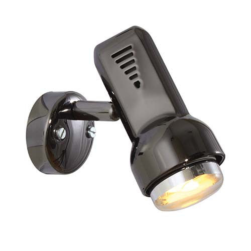 Eurolux Delta 1 Light Round Plate Mounted Spotlight