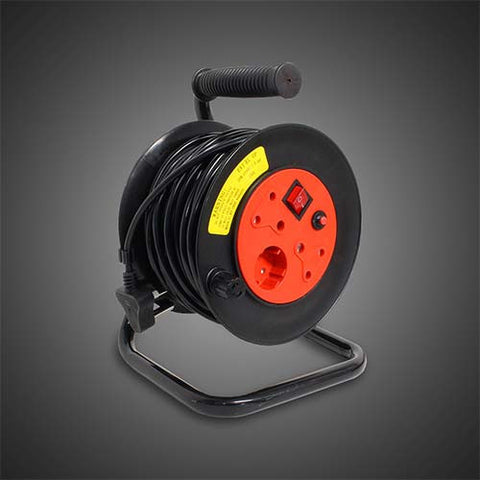 Selectrix Open Reel Extension Cord 20M