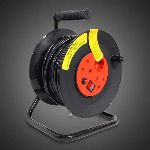 Selectrix Open Reel Extension Cord 30M