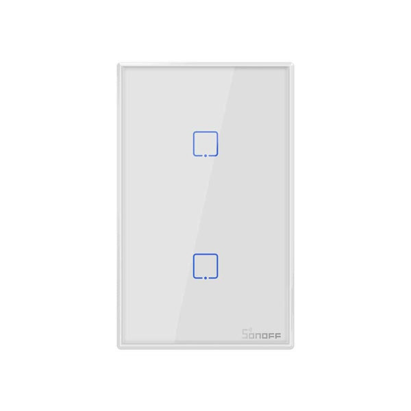 Sonoff T2 2 Gang 433MHz RF WiFi Smart Switch