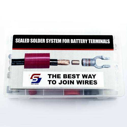 Simple Solder Battery Terminal Assortment