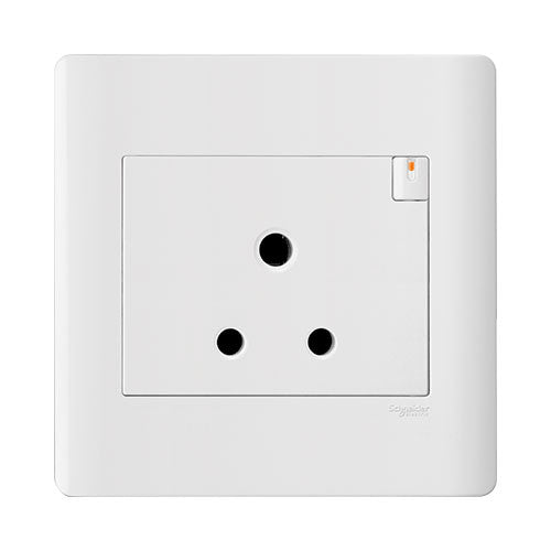 Schneider Zencelo Single Switched Socket We