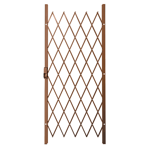 Xpanda Saftidor A Slamlock Security Gate - 840mm x 2000mm Bronze | Security Gate