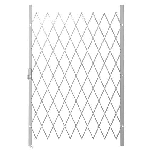 Xpanda Saftidor D Slamlock Security Gate 1300mm X 2000mm White