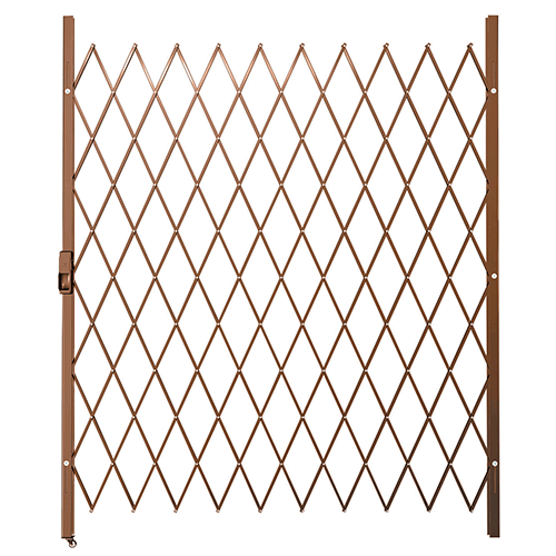 Xpanda Saftidor F Slamlock Security Gate 1600mm X 2000mm Bronze