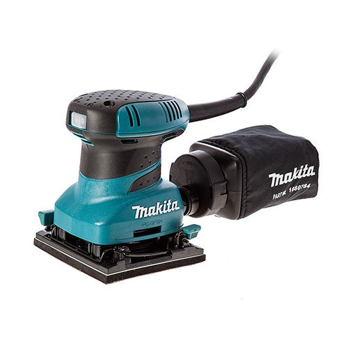 Makita Orbital Sander BO4555 1/4 Sheet 200W