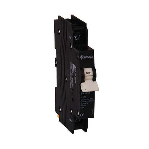 Schenker 1 Pole 3kA Mini Rail Circuit Breaker
