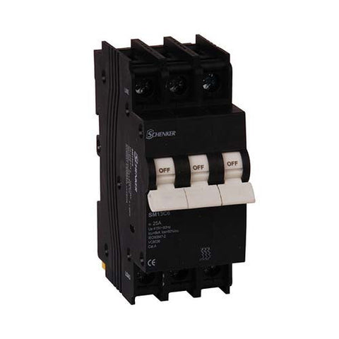 Schenker 3 Pole 3kA Mini Rail Circuit Breaker