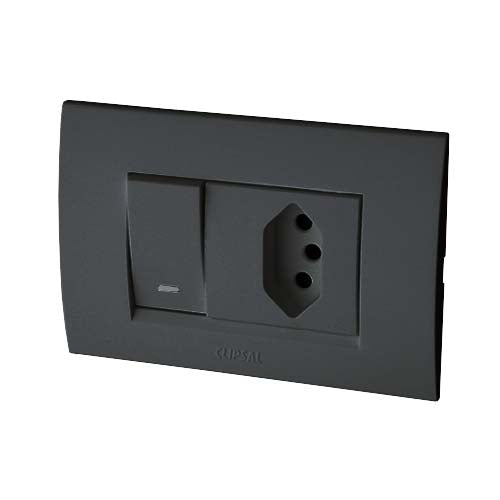 Schneider S3000 Single Euro Switched Socket Outlet