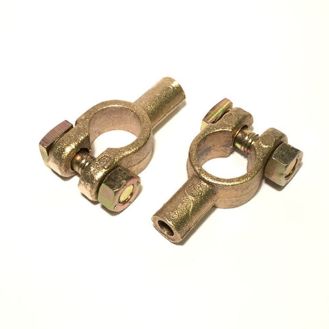 Simple Solder Heavy Duty Battery Terminal Barrel Solder Clamps 8mm