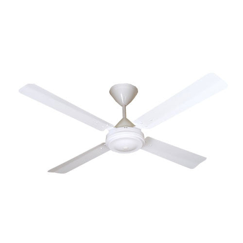 Solent High Breeze 4 Blade 1200 Ceiling Fan - White