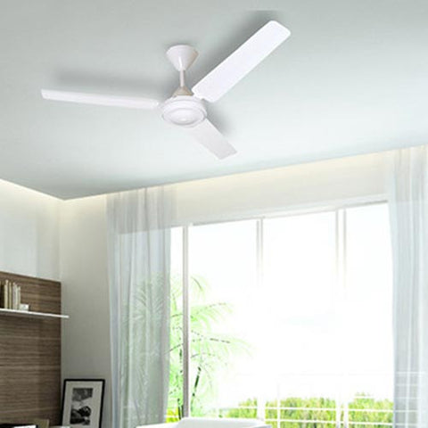 Solent High Breeze 3 Blade 1200 Ceiling Fan - White