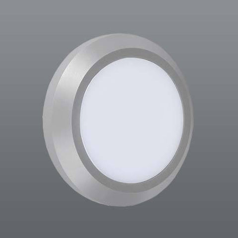 Spazio Ozo Round Plain LED Foot Light - Warm White