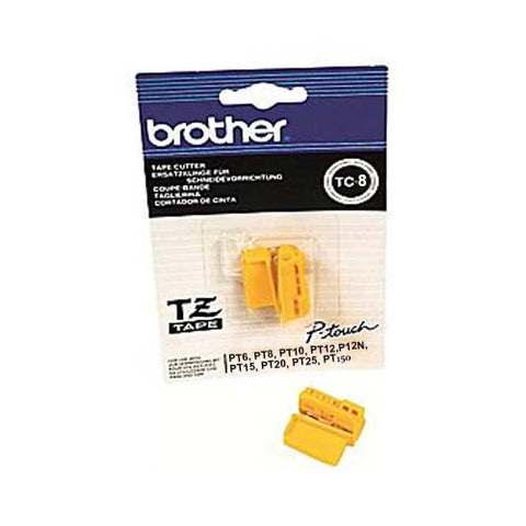 Brother TC 8 Replacement Cutter Blade.  Spare replacement cutter blade for P-Touch Label Printers.