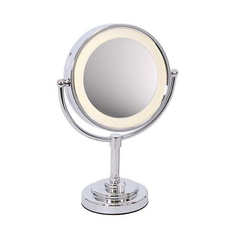 Bright Star Polished Chrome Mirror Table Light