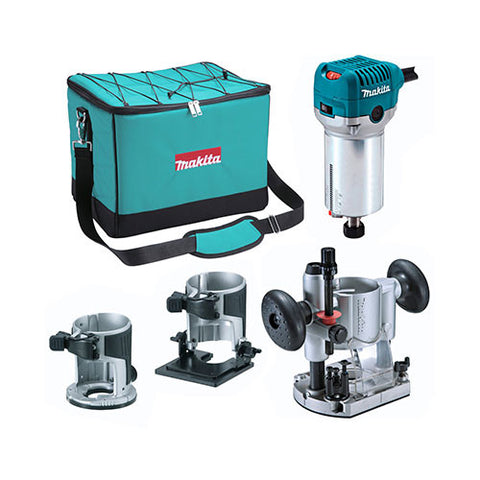 Makita Trimmer Kit RT0700CX2 6.35mm 710W