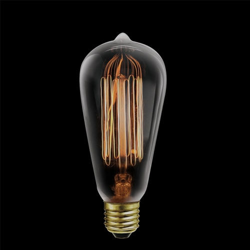 K Light Balloon Carbon Filament Bulb E27 60W Warm White
