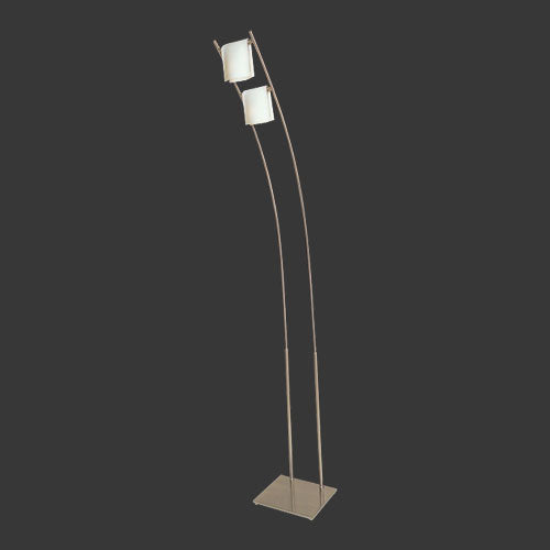 Folded Opal Glass Floor Lamp