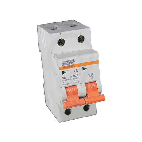 VETI IS - Double Pole Isolator Switch