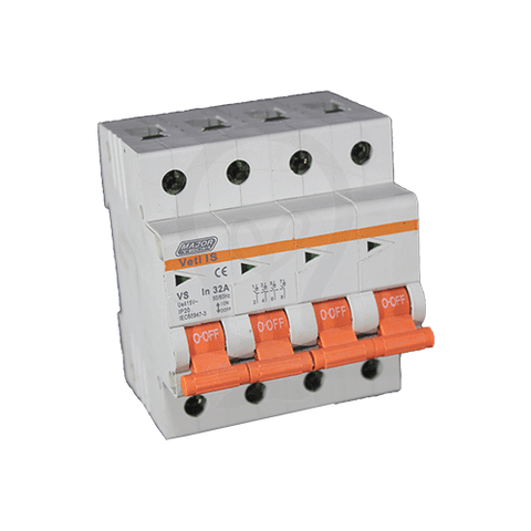VETI IS - Four Pole Isolator Switch