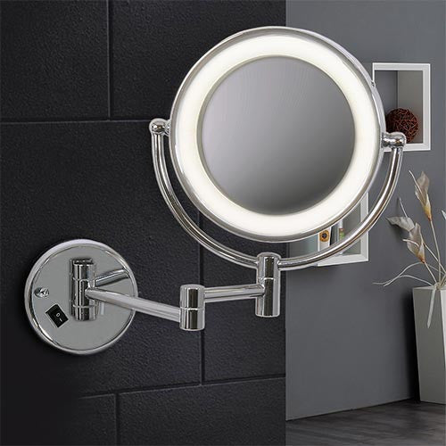 Bright Star Bathroom Mirror Wall Light with Switch