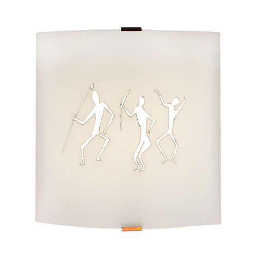 Bright Star Tribal Glass Wall Bracket Light
