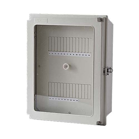 Allbro WDB24-B 24 Way Samite Weatherproof Surface Box.