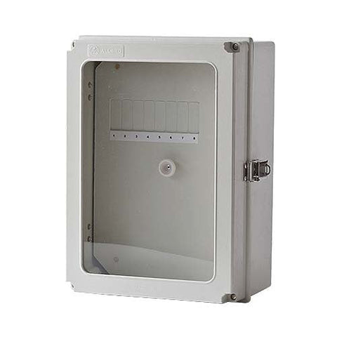 Allbro 8 Way DIN Weatherproof Surface Box. WDB8-B