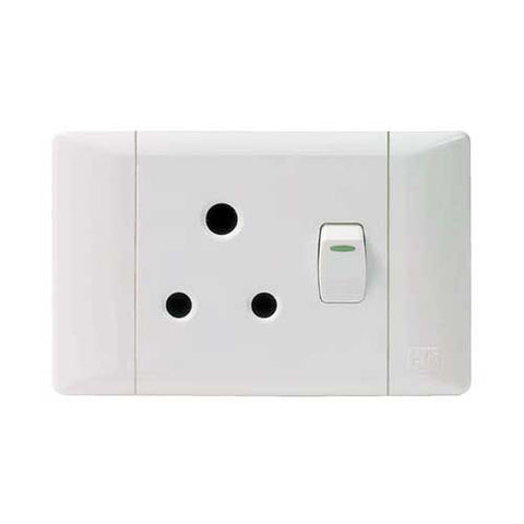 Cbi Single Switched Socket Outlet 1