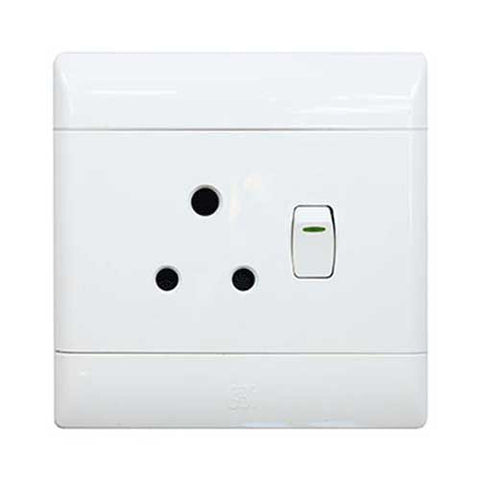 Cbi Single Switched Socket Outlet