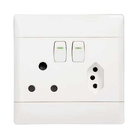 Cbi Sa Euro Combined Socket Outlet