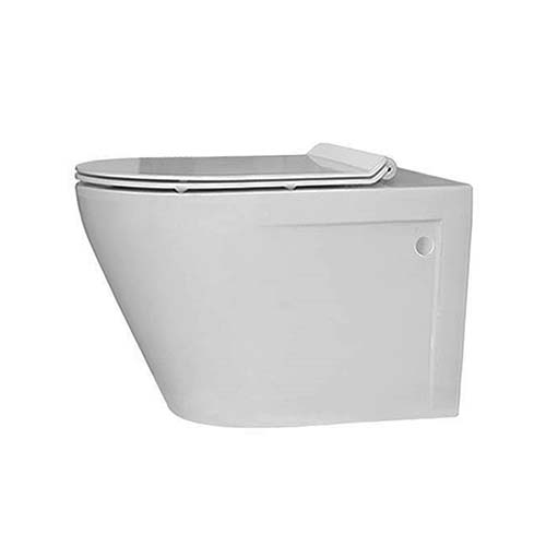 Lecico Zambezi Square Wall Hung Pan + Soft Close Seat