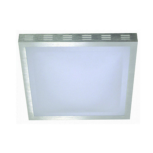 Bright Star Square Polycarbonate Fitting with Aluminium Frame