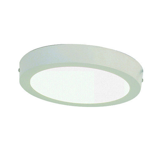 Bright Star White Die Cast Aluminium Ceiling Fitting with Polycarbonate Cover
