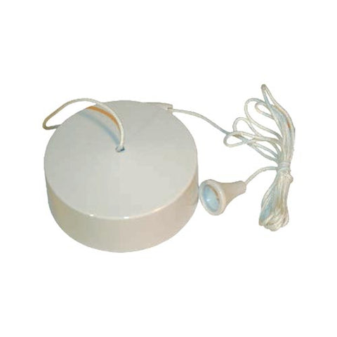 Matelec Ceiling Pull Switch White