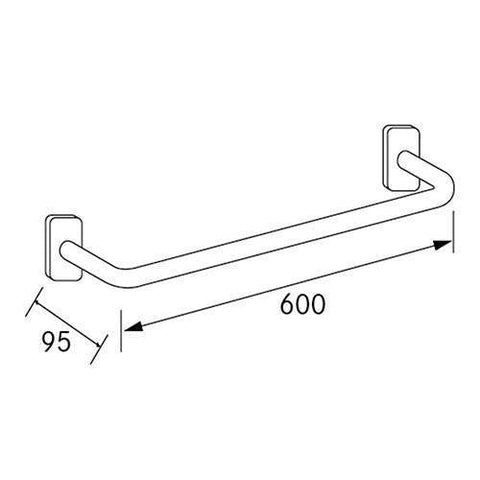 Franke Cntx600 Straight Grab Bar