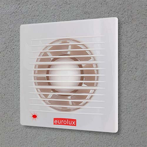 Eurolux Extractor Fan With Pilot Light 172mm