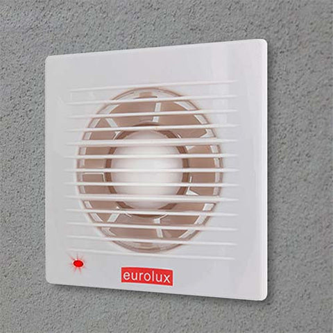 Eurolux Extractor Fan with Pilot Light 208mm