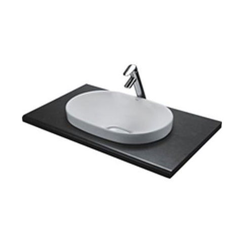 VAAL Zircon Drop-In Vanity Basin 590 x 390mm