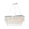 Gem Chandelier - Rectangular