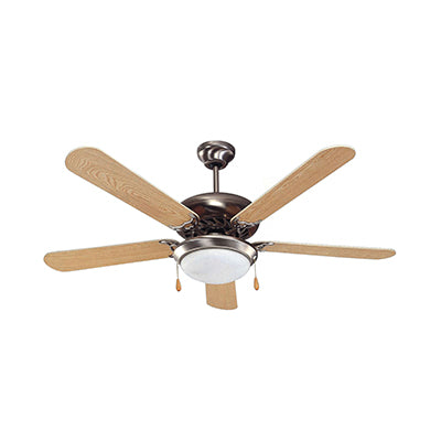 Light Wood Ceiling Fan 52''